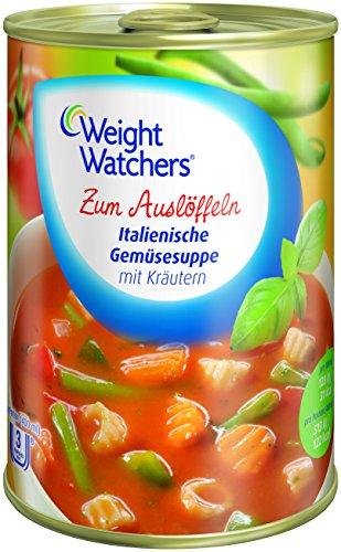 Amazon: Weight Watchers Suppen (6 Dosen à 400 ml) um 6,98 € - 31% sparen