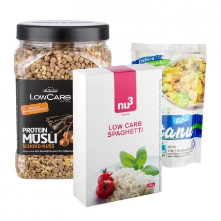 Low-Carb- und Proteine-Produkte reduziert