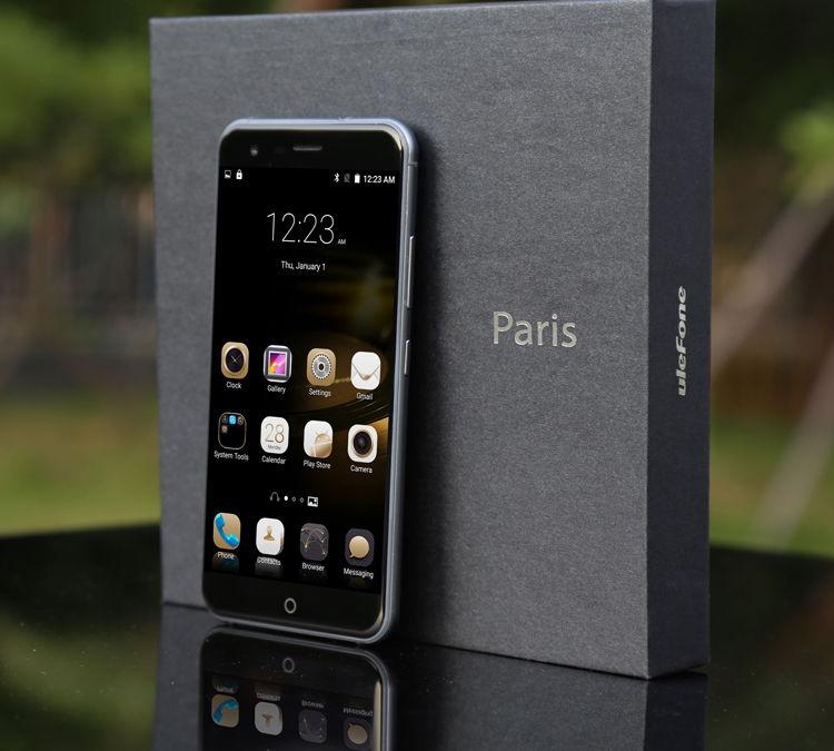 [EU Versand ohne Zoll und Bestpreis]Ulefone Paris 5 Inch 2GB RAM Android 5.1 MTK6753 64bit Octa-core 1.3GHz 4G LTE Smartphone