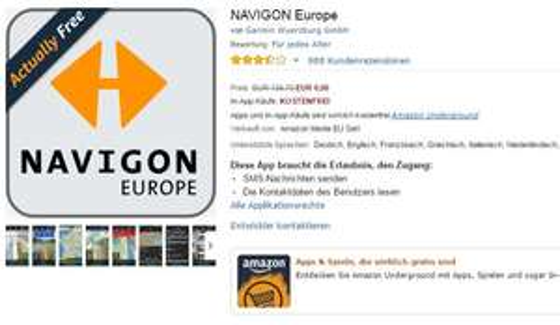 NAVIGON Europe (Gratis)