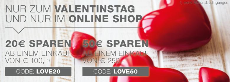 XXXLutz Valentinstags Gutscheine mit bis zu 50€ Rabatt