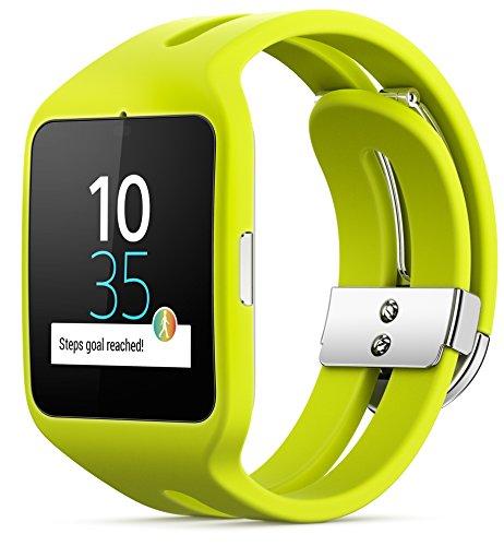 [Amazon.es] Sony Smartwatch 3 SWR50 Lime Sport für 104€ - 16% sparen