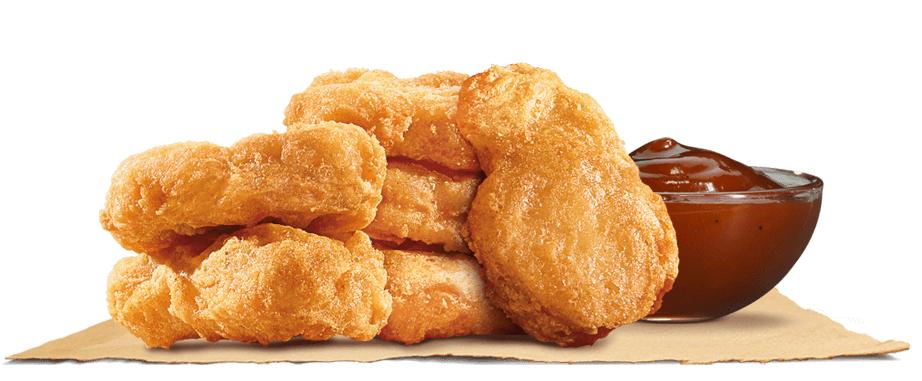 BurgerKing - 6er ChickenNuggets inkl Soße für 1€