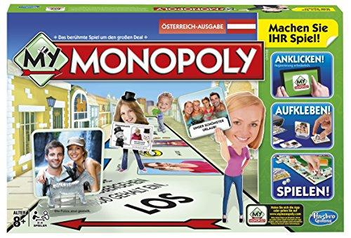 [Amazon.de]  My Monopoly, Familien-Brettspiel, österreichische Version (für Prime Kunden kostenloser Versand)