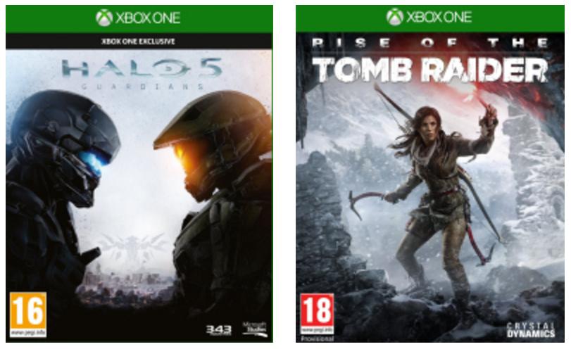 [mediamarkt] Halo 5 + Rise of the Tomb Raider für 50,19€ - 50% sparen