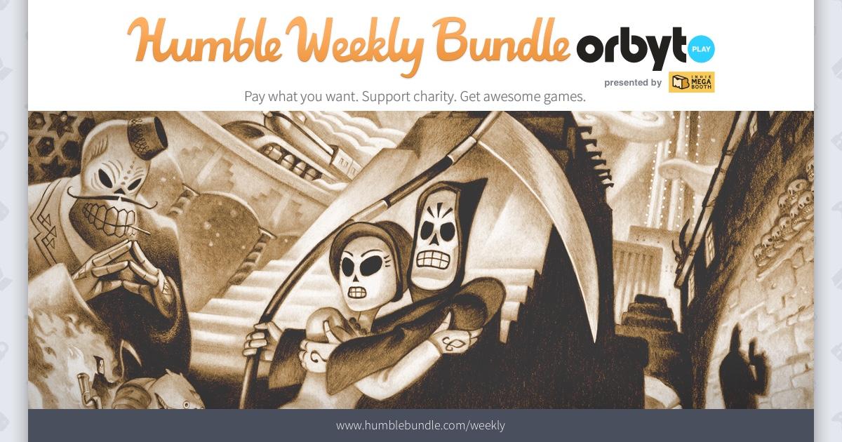 Humble Weekly Bundle: Orbyt Play - bis zu 6 Spiele (Steam) ab 0,90€