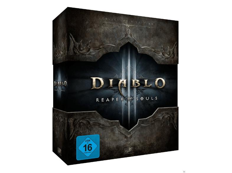 Saturn: Diablo III: Reaper of Souls - Collector's Edition (PC) für 10€