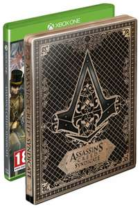 Assassins Creed Syndicate Xbox One Steelbook 25,06@Amazon Uk