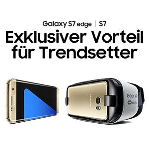 Samsung Galaxy S7 / S7 Edge vorbestellen und Samsung Gear VR kostenlos dazu bekommen!