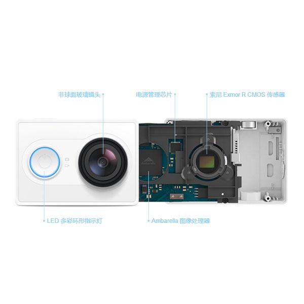 Original XiaoMi Yi Ambarella A7LS Action Kamera [BESTPREIS] [China]