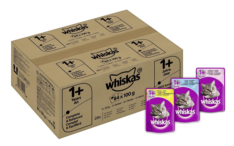 [Amazon]- 20% auf Whiskas Katzenfutter in Portionsbeutel