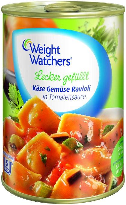 Amazon: Weight Watchers Fertiggerichte (6 Dosen à 400g) um 8,90 € - 25% sparen