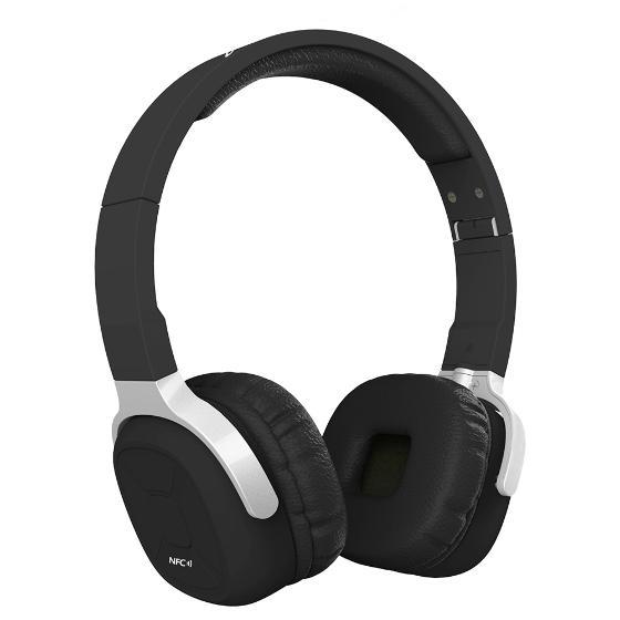 New Bee NB-9 schnurlos Stereo Bluetooth 4.1 Kopfhörer NFC, Musikkopfhörer mit Pedometer 3.5mm Audio Folding Earphone 2 in 1 handfrei, Mic für iPhone 6+6S, Samsung S6+Note 5, Notebooks etc
