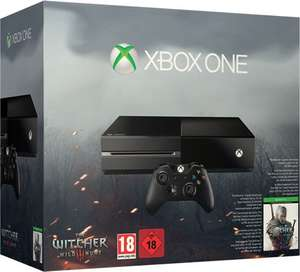 K&Ö: Microsoft Xbox One - 500GB, The Witcher 3: Wild Hunt Bundle für 269,99€