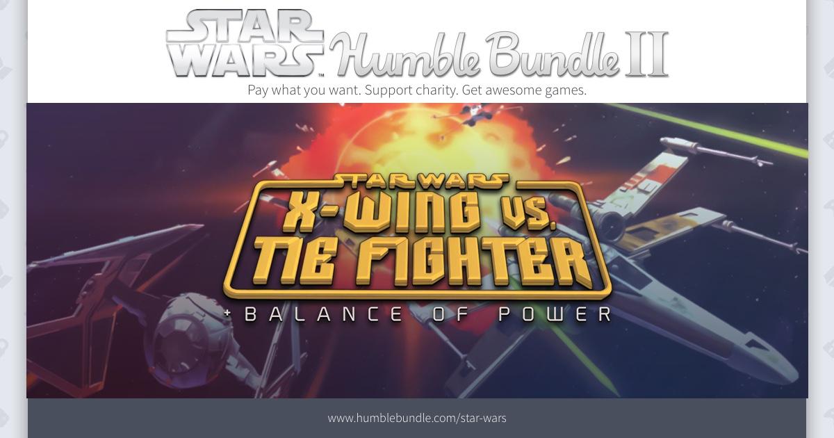 Star Wars Humble Bundle 2 - bis zu 10 Spiele (Steam) ab 0,92€