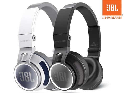 iBood: JBL Synchros S400BT Wireless On-Ear Stereo-Kopfhörer mit Bluetooth und NFC für 105,90€