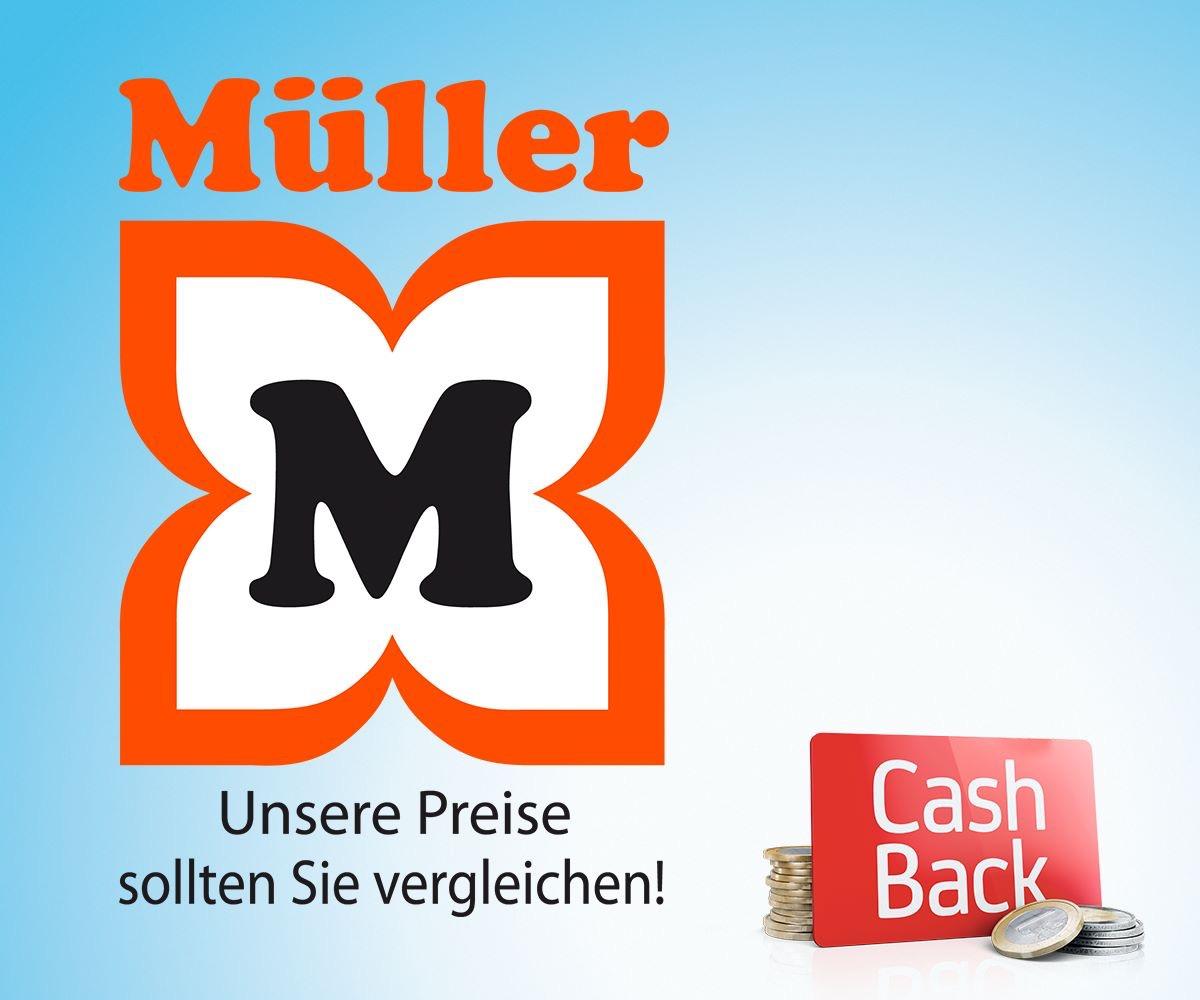 3% CashBack bei Müller - Nur für Bank Austria Kunden