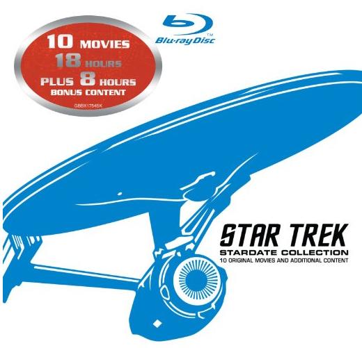 Star Trek: Stardate Collection - Blu-ray (Filme 1-10) um 35 € - 52% sparen