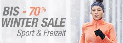 Winter Sale - Sport u. Freizeit - bis zu -70% sparen