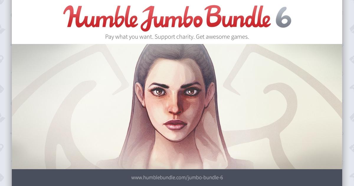 [Humblebundle] jumbo bundle 6 - 7 steam Spiele nur ~10.76 euro