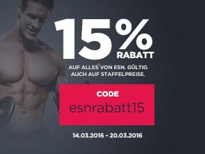 -15% auf ALLES von ESN