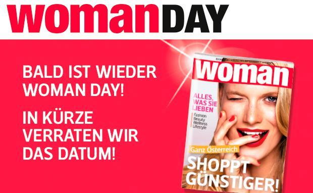 Woman Day 2016 - 20% in zahlreichen Shops - 7.4.2016