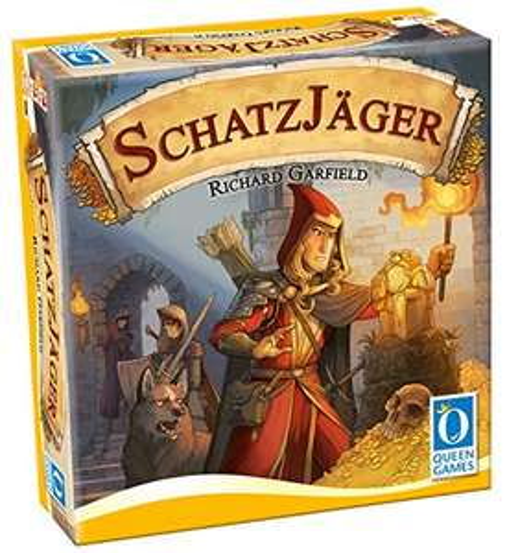 """Brettspiele von Queen Games reduzier.  z. B """"Schatzjäger"""" für 14,29€ (mit Prime oder Buchtrick) Idealo 24,99€"""