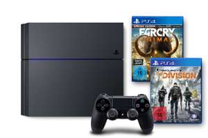 [Amazon.de] Tagesangebot: diverse PS4 Bundles (mit Division, Far Cry Primal...) ab 339€ - bis 18% Ersparnis