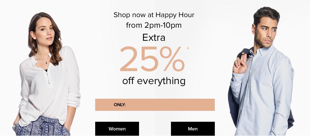 dress-for-less: 25% Rabatt auf alles + 10% Newsletter Gutschein - nur bis 22 Uhr gültig!