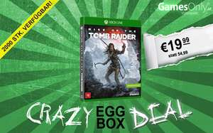 GamesOnly: Rise of the Tomb Raider (Xbox One) für 23,98€