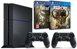 [Amazon.fr] PS4 PlayStation 4 (1TB) + 2. Controller (oder Tom Clancy´s The Division) + Far Cry Primal + Fallout 4 um nur 408,22€