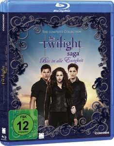 [Amazon.de] Die Twilight Saga – Biss in alle Ewigkeit/The Complete Collection [Blu-ray] für 12,10€
