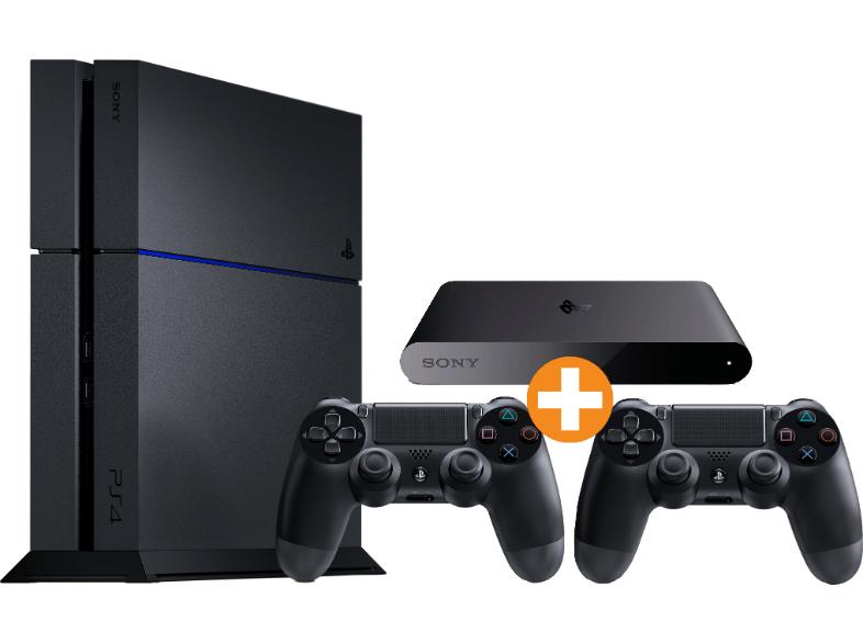 Saturn - PS4 500GB (neue Rev.) + 2 Controller + PlayStation TV für 328€ - 23% sparen