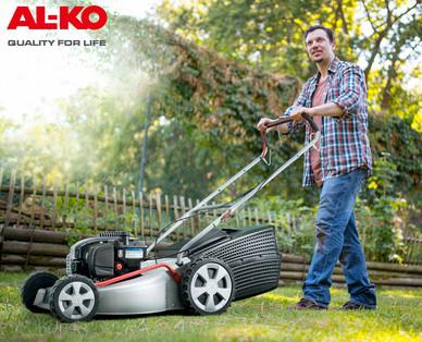 [Hofer] AL-KO Classic 4.65SP-B Plus Benzin-Rasenmäher mit 11% Ersparnis