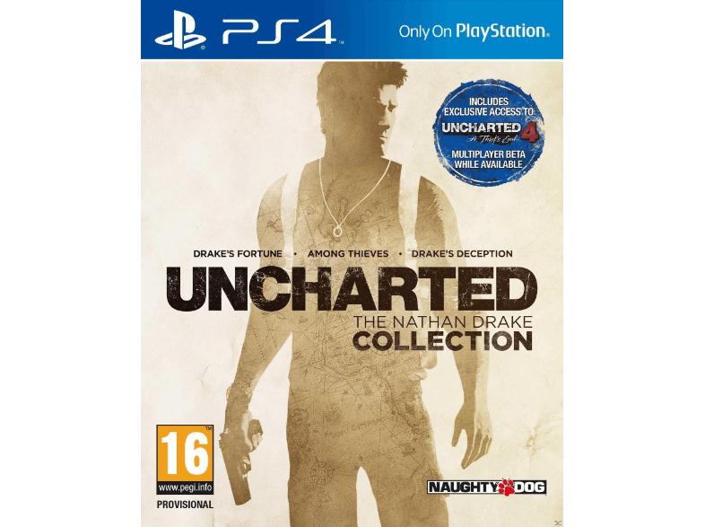 SATURN: Uncharted - The Nathan Drake Collection für €15,- Versandkostenfrei