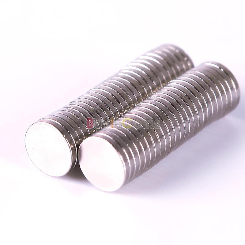 50 superstarke Magnete (6mm x 1mm) für 0,99€