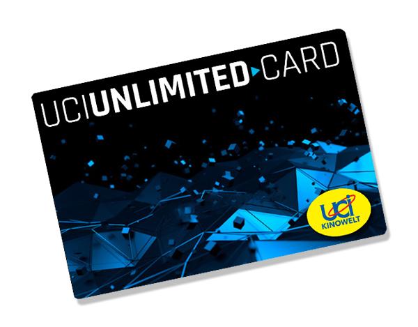 UCI Unlimited Card - Eine Karte für alle Filme um 24,90€/Monat