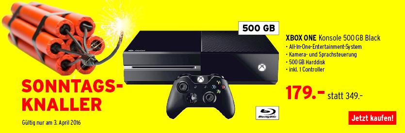 [Interdiscount.ch] Microsoft Xbox One 500 GB