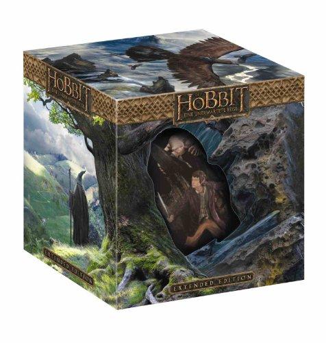 Der Hobbit: Eine unerwartete Reise - Extended Edition 3D/2D (inkl. WETA-Statue) [3D Blu-ray] für 25,20€