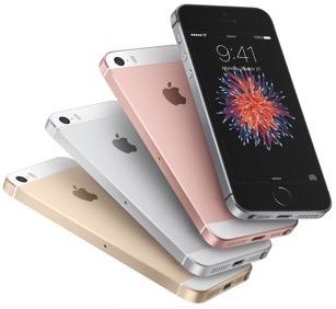 Bestpreis: iPhone SE - 16 GB um 458 € / 64 GB um 562 €