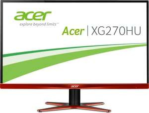 [Amazon.uk WHD] Acer Predator XG270HUomidpx 27Zoll, WQHD, 144Hz, Freesync, TN