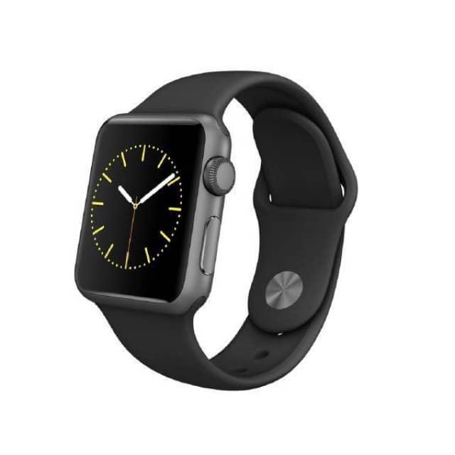 LogoiX: Apple Watch Sport (42 mm, schwarz) um 354 € - 11% sparen