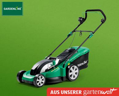 [Hofer] GARDENLINE Elektro-Rasenmäher mit 1,8kW, 43cm Schnittbreite, 60l Fangsack