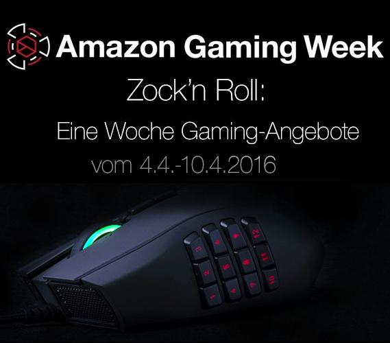 Amazon Gaming Week: 'Zock' n Roll' - Eine Woche Gaming-Angebote