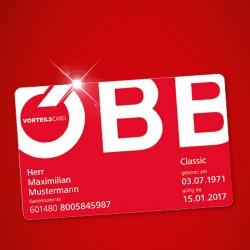 ÖBB Vorteilscard + Trend Jahresabo für 133,90