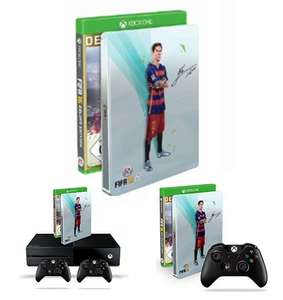 Xbox One Fifa16 Deluxe Deals @Amazon z.B. Xbox One Controller + FIFA 16 f. 60€