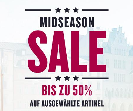 Tom Tailor: Midseason Sale mit bis zu 50% Rabatt + zusätzlich 20% Rabatt! - nur bis zum 14. April