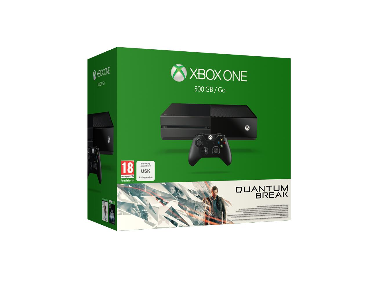 XBOX ONE +Quantum Break +2.Controller €357 inkl.Versand