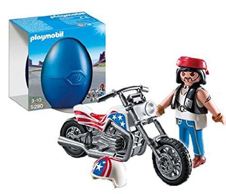 [Plus Produkt] PLAYMOBIL 5280 - Biker mit Chopper fur 3€ statt 7,99€