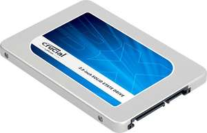 Amazon: Crucial BX200 480GB SATA 2,5 Zoll interne Solid State Drive für 96,90€